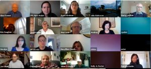 Weekly updates on virtual networking meetings